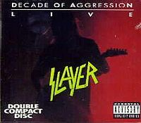 Slayer - Decade of Aggression Cover
