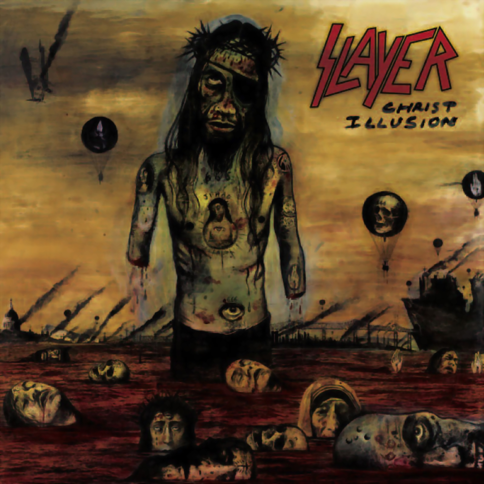 Slayer - Christ Illusion Cover