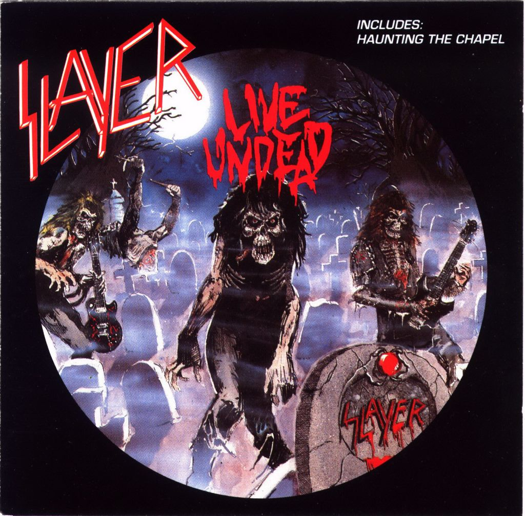 Slayer - Live Undead Cover